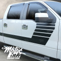 Ford F150 2009- 2014 Side Hockey Bodyline Racing Rally Stripes Decals Graphics