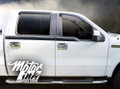 F150 2009- 2014 Upper Side Bodyline Racing Rally Stripes Decals Graphics