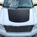 F150 2009-2014 Hood Blackout Accent Racing Rally Stripes Decals Graphics