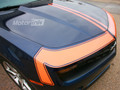"2010 2011 2012 2013 Chevy Camaro Hood Front Fascia Accent Blackout Stripes ""Zl-1"" Decals"
