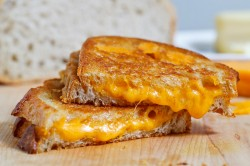 Brad's Famous Grilled Cheese Sanndwich