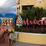 Dan and Michelle bring Flax Paks on their vacation to St. Maarten
