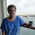 Linda takes Flax Chia Paks with her to a cruise in South America.