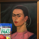 Jeff and his Flax Chia Pak visited the Frida Kahlo Museum in Mexico City