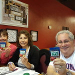 Pat Williams, Helen King and Andy Kunsberg; Board Members of The Shyann Kindness Project, use paks!