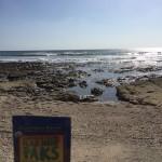 Mike brings his Flax Hemp Paks with him when he treks on the beach.