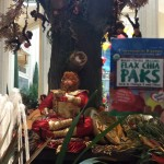Flax Chia Paks celebrating the Year of the Monkey at the Venetian Hotel in Las Vegas.