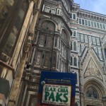 Flax Chia Paks helped Sharon have the energy to climb to the top the Duomo in Florence.