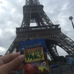 Margot takes Flax Hemp Paks to Paris!