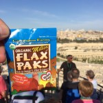 Flax Paks listen to tour guides.