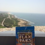 Flax Paks enjoying the beautiful view.