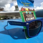 The perfect combination for a sunny day - Carrington Farms sunglasses and a Coconut Oil Pak!
