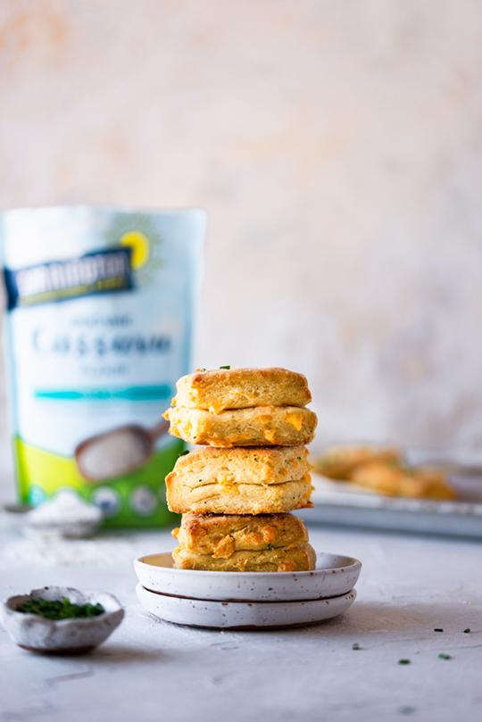 Cassava Flour Biscuits