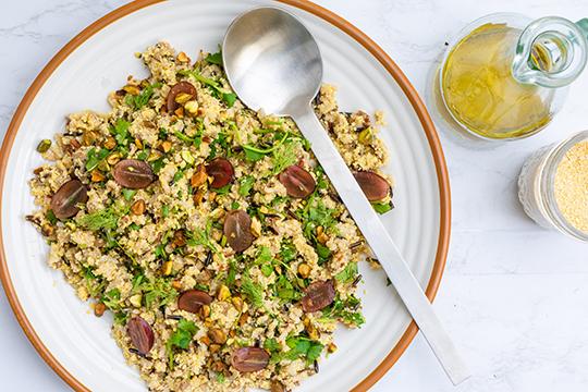 Ancient Grain and Lupin Salad