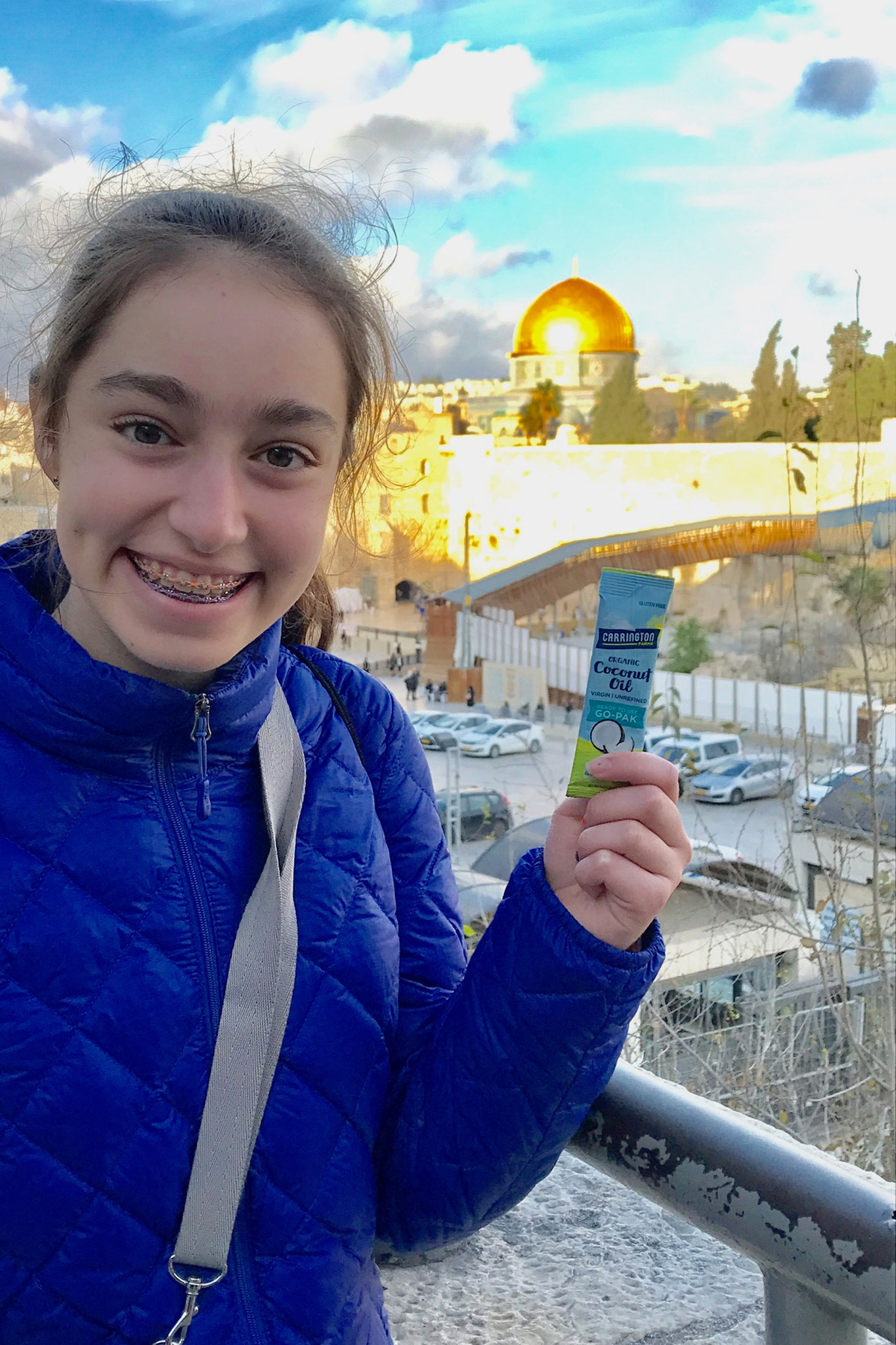 Coconut Oil Paks in Israel