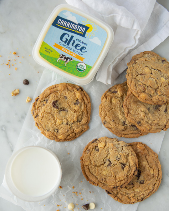 Ghee Nutty Chocolate Chip Cookies by Lynn