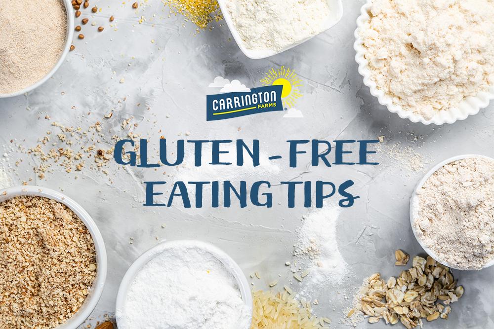 gluten free eating tips