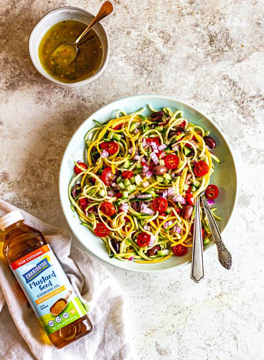 Zoodle Salad