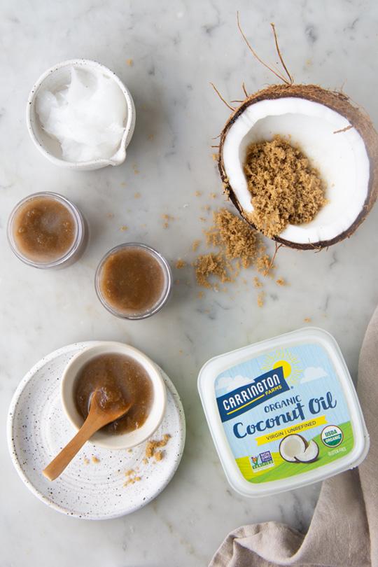 Organic Virgin Coconut Oil Facial Scrub