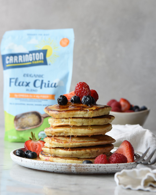 Milled Flax Pancakes by Michael