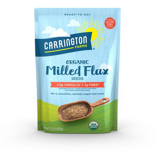 Milled Flax, Organic, 48 oz