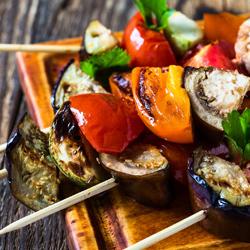 vegetable-skewers