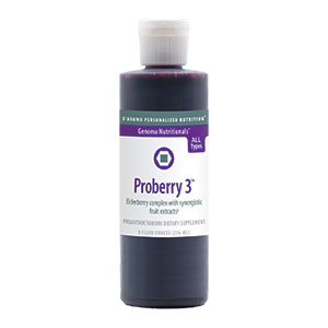 D'Adamo Nutrition, Proberry 3 Liquid (8-ounce Liquid)