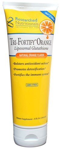 Researched Nutritionals, Orange Liposomal Glutathoine (Tri-Forty)