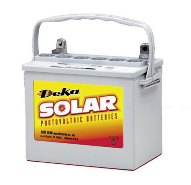 MK/DEKA 8GU1H-DEKA Gel Deep Cycle Battery 12V 36 Ah@C/100 Hr Rate T873 Terminal With Handle