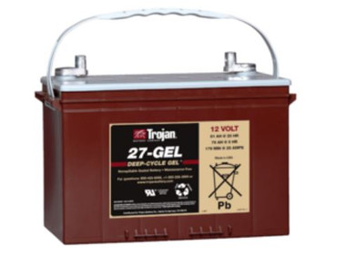 TROJAN 27-GEL 12V 91AH (20HR) GEL BATTERY GROUP 27