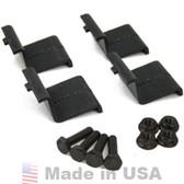 IronRidge XRS End Clamp Kit (4 Pack) I - black