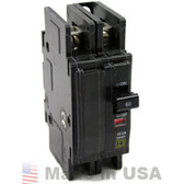 Square D QOU215, 15A, 2-Pole Circuit Breaker