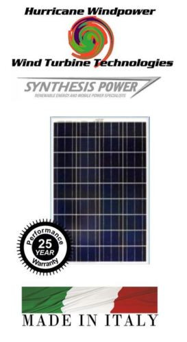 Hurricane Wind Power 20W PEIMAR/SYNTHESIS 12V Poly-Crystalline Solar Panel 10 Watt Off Grid RV Marine