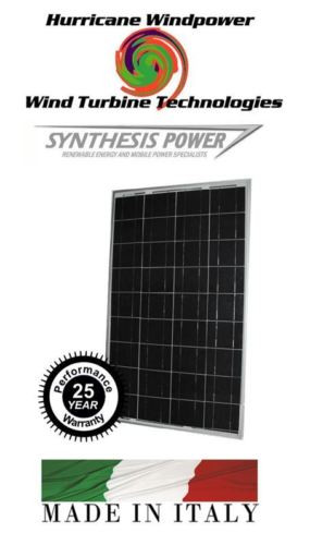 Synthesis Power SG270P PEIMAR Watt Solar Panel Multi Crystaline Off Grid Boat and RV