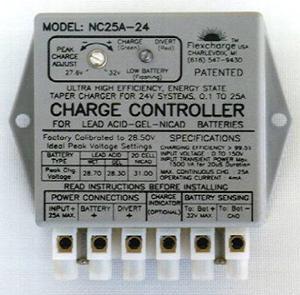 Flexcharge Solar Wind Hydro Turbine Charge Controller NC25A-36 Hybrid 12 Volt US