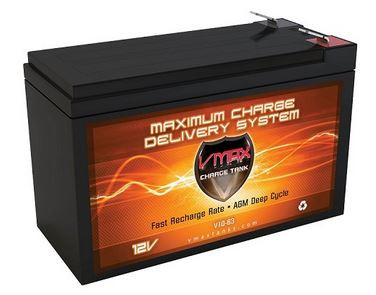 VMAX Charge Tank V10-63 Deep Cycle, High performance AGM Battery
