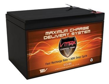 VMAX Charge Tank V15-64 AGM, Deep Cycle & High performance Battery