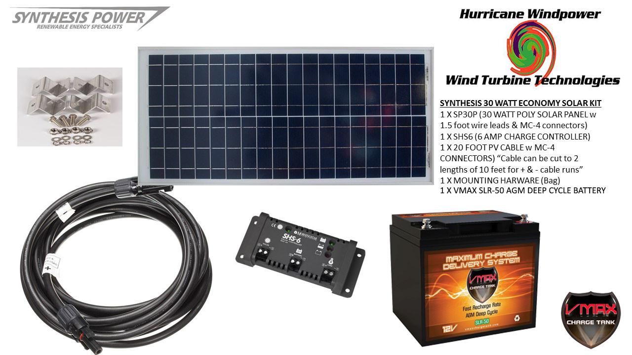30 Panel Solar Pv Off Grid 18 Adult Webcam Jobs Mvimwa System Diagram Kit Watt 12v For Rv Boat W Charge Control