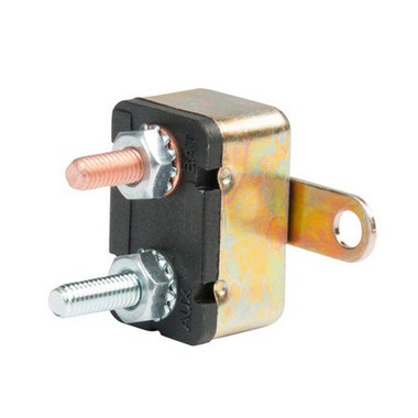 12 volt 50 Amp DC Auto Reset Circuit Breaker Type 1 for Wind, Solar, Automotive