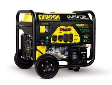 REFURBISHED Champion Power Equipment 100155R 7000W/9000W Dual Fuel Generator