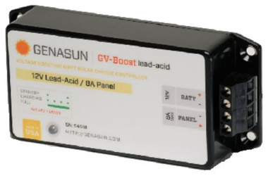 GENASUN GVB-8-PB-12V 8A MPPT CHARGE CONTROLLER 12V FOR LEAD ACID BATTERIES