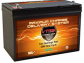VMAX Charge Tank SLR100, 100AH Deep Cycle AGM Solar Battery