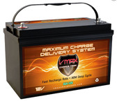 VMAX Charge Tank SLR125, 125AH Deep Cycle AGM Solar Battery