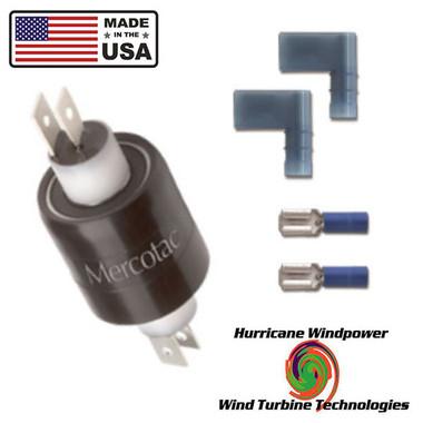 MERCOTAC  230 Slip Ring 2 Conductor