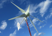 48 Volt 1 KW hurricane XP wind turbine