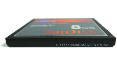 SanDisk 10 x 8GB Ultra 30M/S CompactFlash CF Card SDCFH-8192 Geunine New