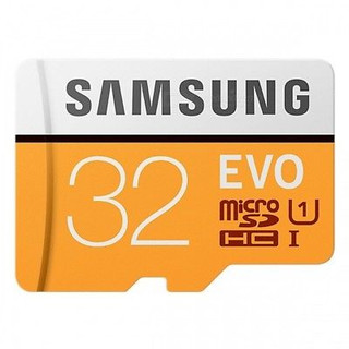 SAMSUNG EVO 32GB MICROSD HC CLASS 10 UHS-1 95MB/S MOBILE MEMORY CARD 32G MB-MP32G    Quick Overview • Up to 95MB/s transfer speed • Great for Cell phones, Smartphones, Android Tablets, Tablet PCs. • Great speed and performance for full HD video recording, high resolution pictures, mobile gaming, music and more. • Water proof, Temperature Proof, X-Ray proof, Magnetic proof • Compatible with devices with micro SDHC and micro SDxC slots.