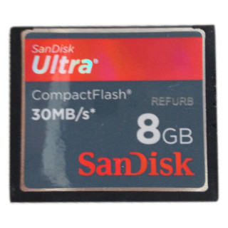 NOTICE:The item(s) are NOT coming with Retail Packing but 100% GENUINE & Brand New!   Power Core Controller Delivers Unmatched Speeds This CompactFlash card's cutting-edge memory controller distributes image data across the card faster and more efficiently, letting the memory card achieve exceptional data speeds. And thanks to SanDisk's exclusive Enhanced Super-Parallel Processing, the SanDisk Extreme Pro CompactFlash memory card ensures fast, reliable performance in any shooting situation.  Up to 30MB/s Write Speed for Enhanced Burst-Mode Performance The 8GB SanDisk Extreme Pro CompactFlash memory cards offer read/write speeds up to 30MB/s, recording photos nearly instantly and reducing lag time between shots. Your DSLR camera's continuous burst-mode shooting will capture more shots per burst than ever before. The 8GB SanDisk Extreme Pro CompactFlash Memory Card is even faster, offering write speed of up to 100MB/s. UDMA Interface and VPG for Flawless Full HD, Cinema Quality Video Recording. The card's cutting-edge UDMA interface keeps up with the taxing memory demands highest resolution quality photos. These cards also offer a Video Performance Guarantee(VPG) ensuring a sustained minimum video write speed of 20MB/s to meet the demands of professional, cinema quality Full HD Video VPG allows minimum sustained write speed so you can shoot superior Full HD video. Expansive Storage Capacity The SanDisk Extreme Pro CompactFlash Memory Card has plenty of room to accommodate high-resolution image formats, including RAW and JPEG. Available in capacities up to 8GB, the card can store hours of video and thousands of photos. Durable Design Designed to withstand the toughest conditions, the SanDisk Extreme Pro CompactFlash memory card can operate in temperatures ranging from -13ºF (-25ºC) hours or 185ºF (85ºC), so you can snap the perfect shot in almost any climate. These cards are backed by rigorous stress, shock, and vibration testing procedures and feature RTV silicone coating for added protection against shock and vibration.
