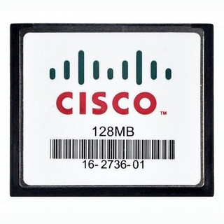 Feature      Product Type: Compact Flash (CF)- Type     Flash Memory Capacity: 128MB     Pin: 50-pin     Dimensions: 36.4mm(L)*42.8mm(W)*3.3mm(H)     Weight: 15g     Brand Name: CISCO     Form Factor: CompactFlash (CF)     Application/usage: Switch     Data transmission speed:     Read: 8 - 16MB/sec=100X     Write: 8 - 15MB/sec     environments and temperatures from     -13 F to 185 F     -25 C to 85 C      Voltage: 3.3V  10%; 5.0V  10%  Specifications:      Easy plug-and-play.     128MB Memory Capacity.     Low Power Consumption.     Solid-State Storage.     100% Satisfaction Guarantee.     Come with Protection Plastic Box.     Support : Windows 7, 2000, XP/Macos  Technical reference:  Compatible with:      Digital Cameras     Digital Video Players     Digital MP3 Music Players     Computers     Laptops     Card readers     Handheld PCs       And other devices that feature a Compact Flash slot.