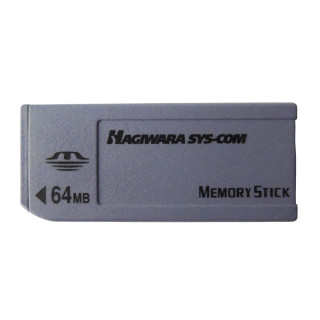 64MB HAGIWARA SYS-COM Memory Stick Card NON-PRO 64M MS Card HPC-MS64H for Sony